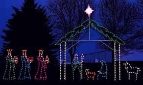 outdoor lighted nativity as outdoor laser lights epic solar lights