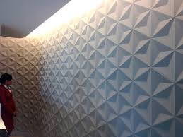 dimensional tile indoor tile wall concrete geometric pattern japanese geo