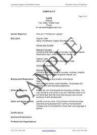 a cv how to write a cv resume curriculum vitae sle 6 jobsxs