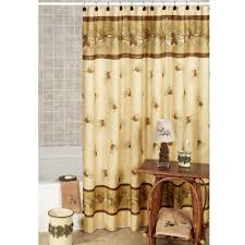 primitive shower curtain rustic shower curtain by nfl oakland your shower curtain