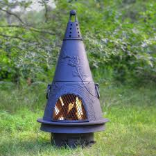 14 chimineas to warm up your outdoors hgtv