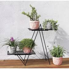 Plants Home Decor Plant Stand Angled Plant Stand In Outdoor Home Decor Pinterest