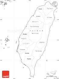 Blank Map Of Spain by Blank Simple Map Of Taiwan