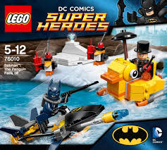 lego super heroes 76010 batman the penguin face off amazon co
