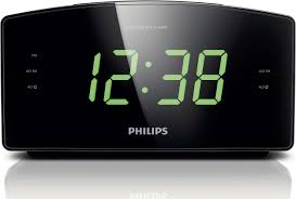 clock radio aj3400 37 philips