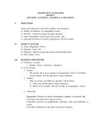 biographical sketch example biosketch example written by