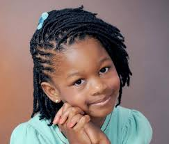 pictures on braided hairstyles for kids with short hair