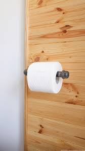 how to make a rustic toilet paper holder mountainmodernlife com