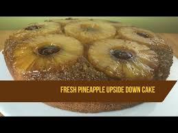 pineapple upside down cake recipe with fresh pineapple