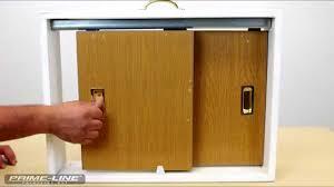 Sliding Closet Doors Installation How To Install A Closet Door Finger Pull