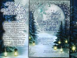 winter wonderland party invitations u2013 gangcraft net