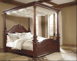 Ashley King Size Bed Ashley Furniture King Canopy Bed Tagged With Wooden And Frames