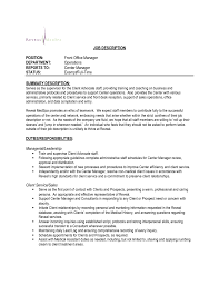 help desk manager job description front desk manager cover letter exles lovely cover letter