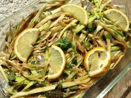 cuisiner du lieu noir lieu noir et spaghettis de légumes papa en cuisine