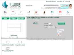 how to mail merge four postcards onto one sheet burris computer