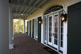 Beadboard Exterior - shutters for french doors kids traditional with baseboards
