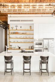 a kitchen for a cookbook author and a sculptor williamsburg