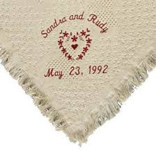 personalized wedding blankets 9 best personalized wedding blankets images on wedding