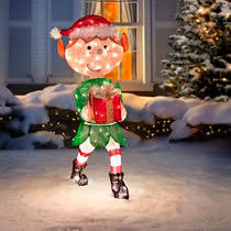 Peanuts Outdoor Christmas Decorations Ice Skating Peanuts Lighted Outdoor Christmas Decoration
