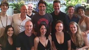 x men dark phoenix cast meets canadian prime minister ign