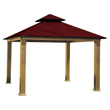 Gazebos With Hard Tops by Stc Monte Carlo Gazebo With Hard Top Roof Hayneedle