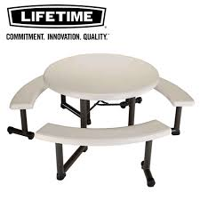 plastic round table and chairs nnmart rakuten global market lifetime lifetime round table with