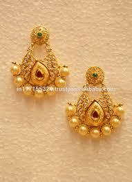 big jhumka gold earrings copper jhumka earrings copper jhumka earrings suppliers and