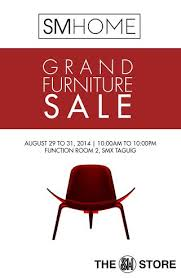 sm home grand furniture sale smx aura taguig august 2014
