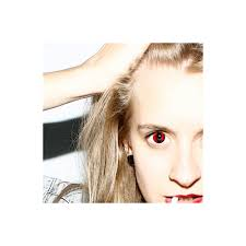 hunt or dye halloween coloured contact lenses red cat 1 day