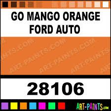 go mango orange ford auto auto lacquer spray paints 28106 go