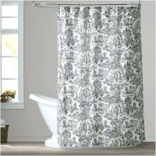 Curtains Ideas Inspiration The Best Toile Shower Curtains Black White U Ideas Picture Of