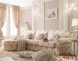 right side country style sofas flower fabric sofas cheap price