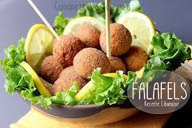 cuisine libanaise recette falafels libanaises aux pois chiches recettes faciles recettes