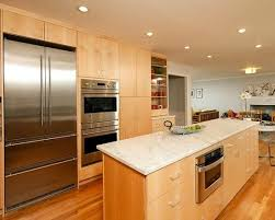 excellent kitchen design with recessed lights modern