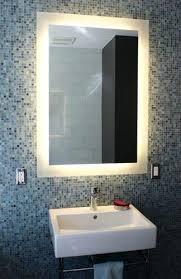 wall mirrors led lighted vanity wall mirror backlit bathroom