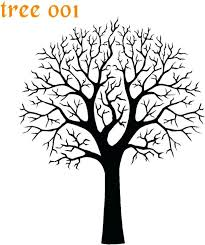 coloring pages tree template printable tree trunk template