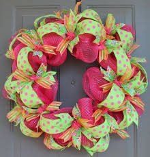 ribbon wreath best 25 mesh ribbon wreaths ideas on fall ribbon