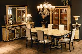 Expensive Dining Room Sets by Simple Luxury Dining Table Set With Nice Gold Color Scheme Luxury
