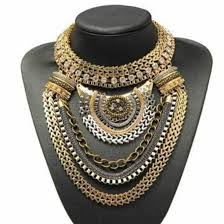 big statement necklace images Big statement gold necklace images jpg