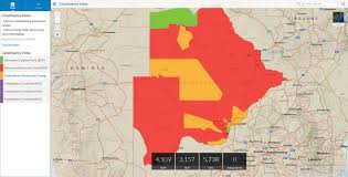 2014 Election Map by Mapping The 2014 Botswana Election Results Ee Publishers