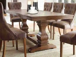 leather dining room chair rustic leather dining room chairs