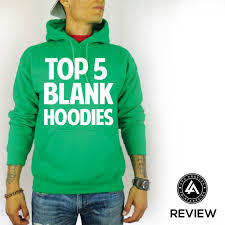7 best top 5 quality blank hoodies for printing images on