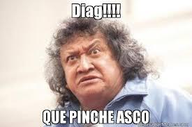 Meme Asco - diag que pinche asco jo jo jorge falcon memes pinterest