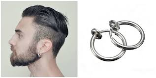 men earring buy stylish and classical earrings for men bingefashion earring