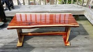 live edge outdoor table live edge table top slabs white valley lumber mill