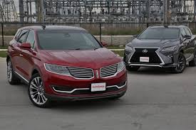 lincoln jeep 2016 2016 lexus rx 350 vs lincoln mkx autoguide com news