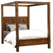 custom bunk beds rustic mountain canopy bed