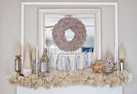 Winter White Christmas Decorations by I Love You More Than Carrots A Winter White Christmas Mantel