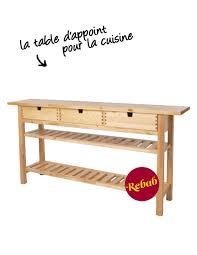 meuble d appoint cuisine ikea la table d appoint pour la cuisine je shoppe quoi chez ikea grazia