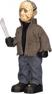 Halloween Costumes Jason Voorhees Jason Voorhees Animatronic 35 Cm Horror Figures Halloween